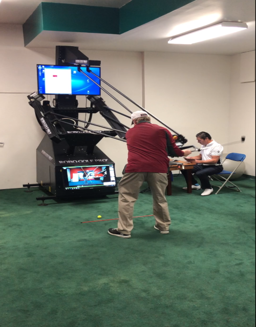 Man O' War Golf now has a RoboGolfPro®.