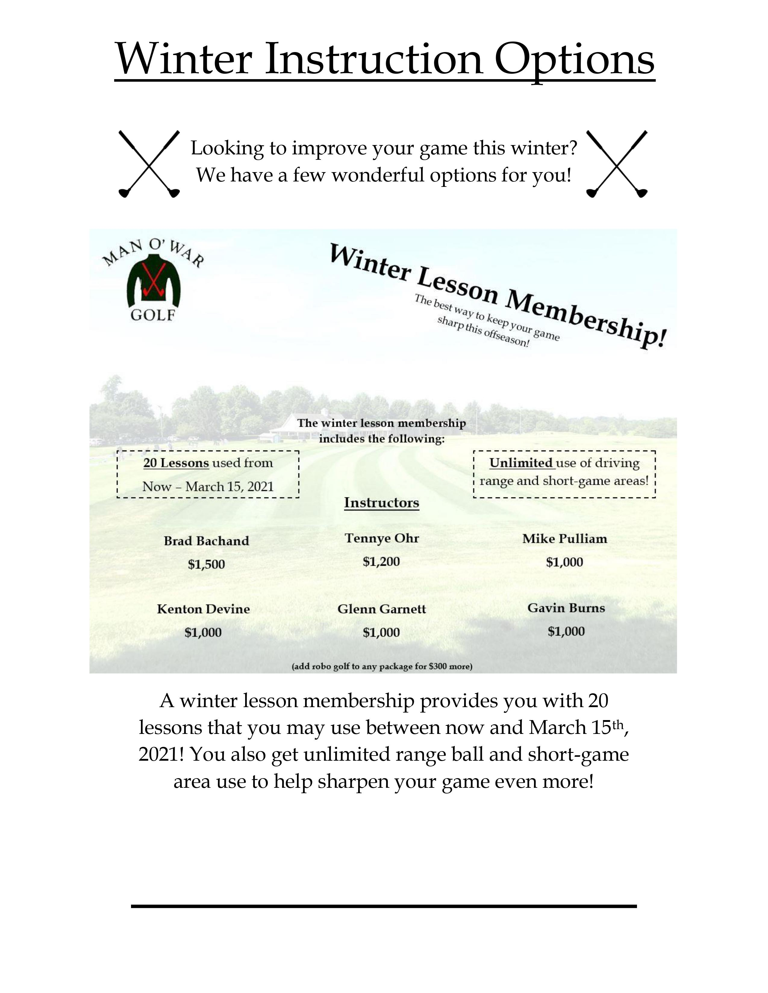 Winter instruction Page 1 NEW 2